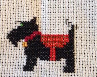 Handmade Dog Cross Stitch