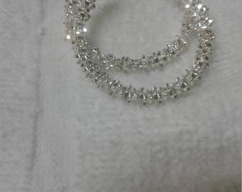 925 Sterling Silver Earrings Hoops