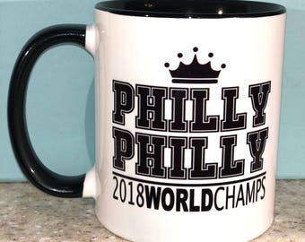 PHILLY PHILLY Eagles World Champs Coffee Mug