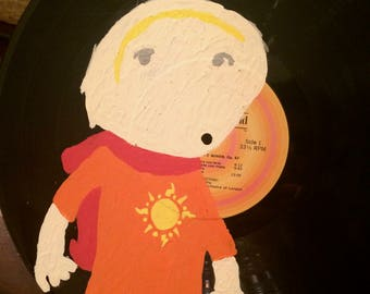 Rose Lalonde Record Painting