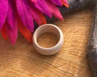 Hand-Carved Ring Size 7 1/2