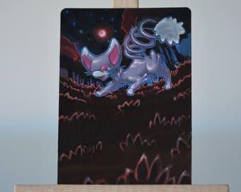 customized pokemon card - chaglam