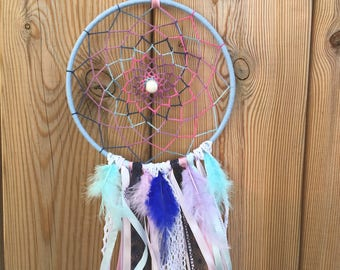 Pink Purple blue Dreamcatcher