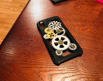iPhone X Geneva Mechanism Case - Movable Gears