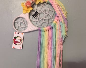 MEDIUM SIZE Unicorn Dreamcatcher, Dream Catcher, Wall Hanging, Nursery Decor