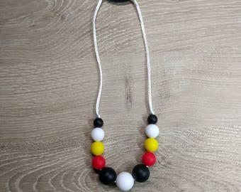 Silicone Baby Teething Necklace-Toddler Size