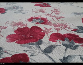 Polycotton tablecloth flowers anthemis