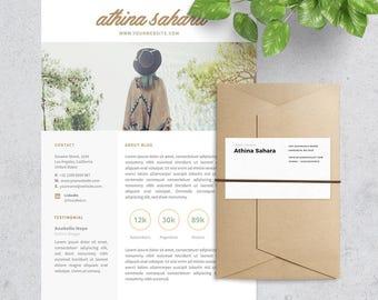 Media Kit or Press Kit Template for Blogger
