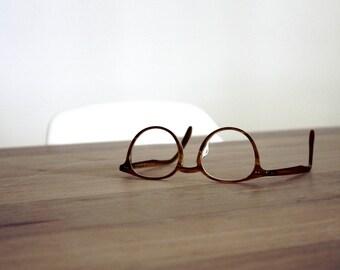 Added prescription lenses, glazed into frames