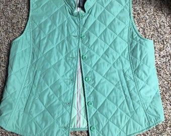 Lime green vest