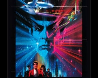 Star Trek III the Search for Spock - 11x17 Framed Movie Poster