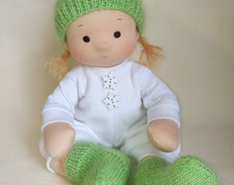 Doll Waldorf Doll Baby Soft Doll Soft Ragdoll Doll For Baby Girl Waldorf Inspired Doll Natural Rad Doll Toys And Games Dolls Organic Toy