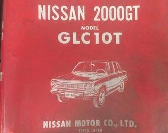 Parts Catalog Nissan 2000GT Model GLC 10T