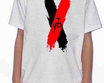 Jake Paul JP X two tone Youth T-shirt