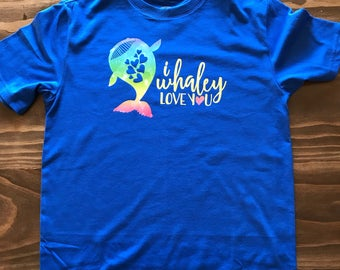 I Whaley Love You Youth T-Shirt