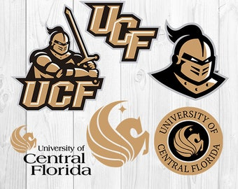 University of Central Florida SVG, UCF Files, UCF Logo, Football Printables, Vector Images, Cutting Machine, Silhouette, Cricut, S-036