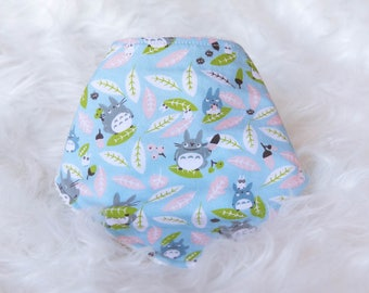 Baby bib Bandana-bandana Totoo-baby shower gift-blue-boy-girl