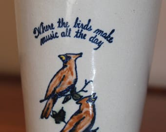 Louisville Stoneware  Mint Julep cup from 1976 Kind Trees pattern