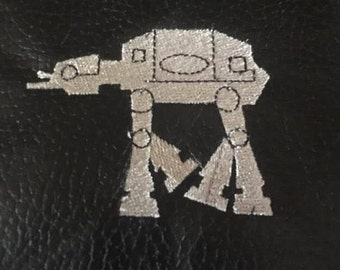 Star wars Atat AT-AT machine embroidery