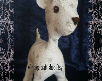 Snowbelle the winter baby deer sewing pattern pdf