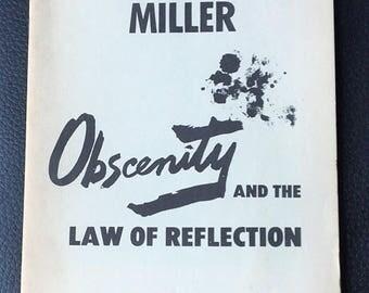 Vintage Henry Miller Pamphlet
