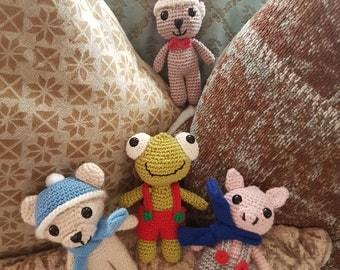 Cute little handmade best friends