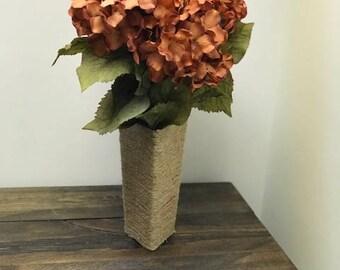 Home Decor, Twine Vase