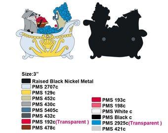 Presale Meeko and Percy (Pocahontas) Fantasy pin
