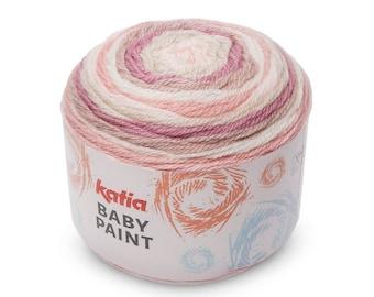 Baby Yarn, Merino Yarn, Acrylic Yarn, Multi Colored Yarn, Katia Yarn, Baby Knitting, Knitting Yarn, Merino Wool Yarn, Wool Yarn,Crochet Yarn