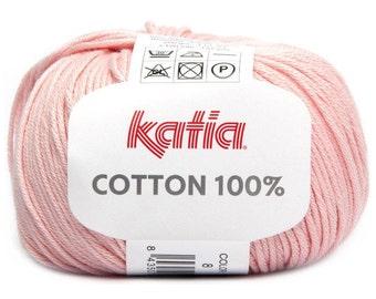 Cotton Yarn, Amigurumi Yarn, Katia Cotton, Baby Cotton Yarn, Yarn For Doll, Katia Yarn, Cotton Knitting Yarn, Knitting Yarn, Crochet Yarn