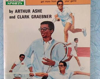 Grow Ahead Books Sports By Arthur Ashe and Clark Graebner