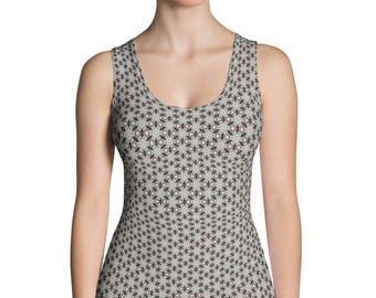 Printed,Sublimation Cut & Sew Tank Top.Printful, USA