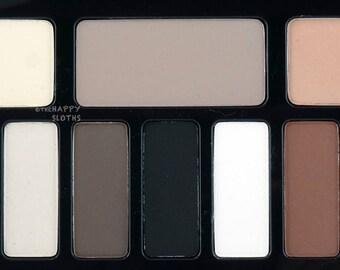12 color pigmented eyeshadow contour palette