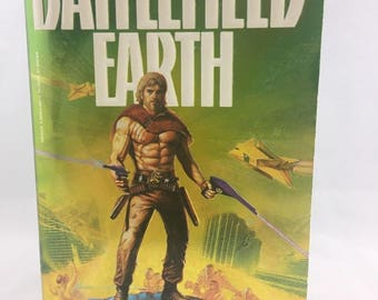 A Saga of the Year 3000 Battlefield Earth by L. Ron Hubbard 1984 first paperback edition