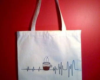 Tote bag - for difficult morning