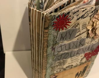 Hand-Crafted Junk Journal
