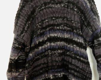 Plait-Longpulli from virgin wool