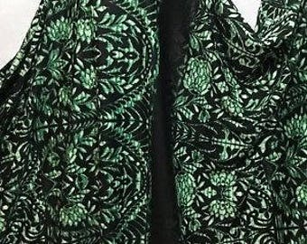 Stretch Ponte Roma Jersey Floral-African 1m Panel Print Dress/Craft Fabric