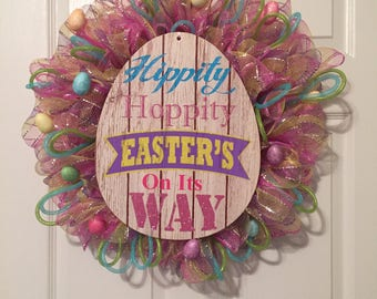Crafted Easter Wreath