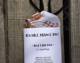 5 x Small Dried Goods Bags