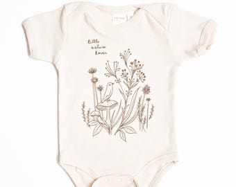 Organic Baby Clothes - Nature Baby Clothing - Organic Baby Clothing Organic Baby Clothes Baby Bodysuit One Piece Onesuit onsie