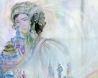 Alchemist - Magical / Fantasy Art Print