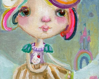 Babycakes  - art print by Mindy Lacefield