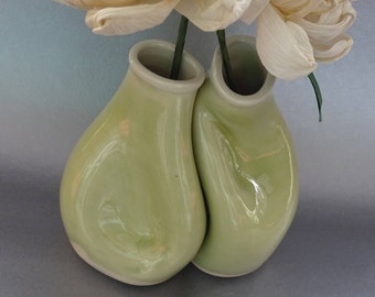 Wedding Gift Vase Set, Unique Wedding Gift for Couples, Handmade Pottery / Ceramics