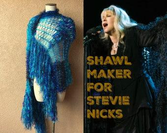 Turquoise Ready to Ship Teal Blue Shawl Purple Mermaid Accessories Wedding Clothing Women Shawl Wraps Shoulder Wrap Shoulder Shawl Women
