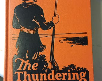 """Vintage Western  Book """"The Thundering Herd"""" by Zane Grey"""