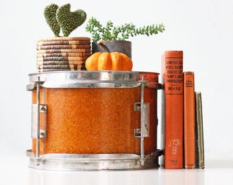 Vintage Orange Drum