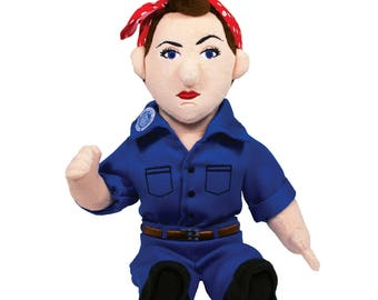 Rosie the Riveter Plush Doll