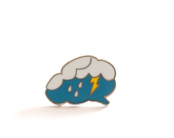 Brainstorm Enamel Pin Badge, Brain Brooch, Thinking Power, Brooches, Pins, Fun Pin, Enamel Pins, Rock Cakes Brighton
