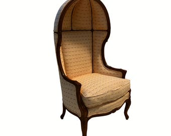 Vintage Porter Chair Hollywood Regency